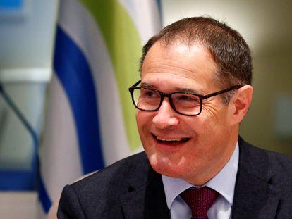 El director ejecutivo de Frontex, Fabrice Leggerim, en Bruselas en enero de 2020.