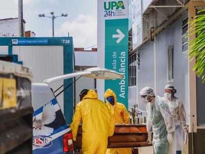 Centros de urgencias en Fortaleza, adaptados para enfrentar la pandemia.