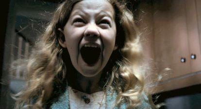 Megan Charpentier en 'Mamá', de Andrés Muschietti, la película española más taquillera del año.