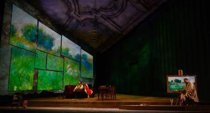 Ensayo de la 'Bohème', que digirá Chailly en el Palau de les Arts.