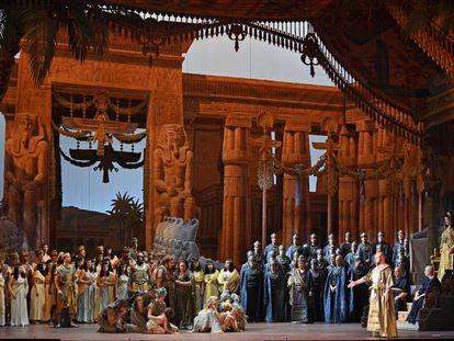 Una escena de 'Aida'.