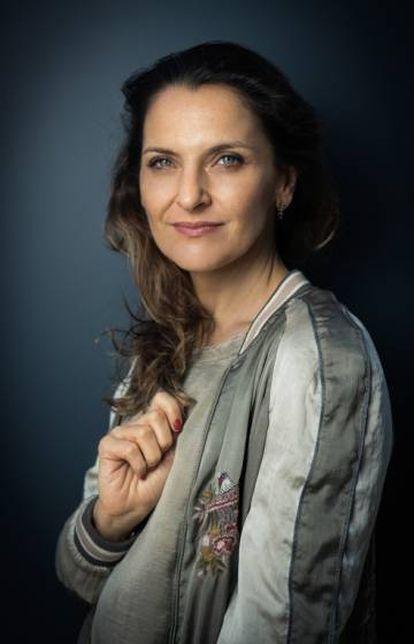 La actriz Antonia Zegers.