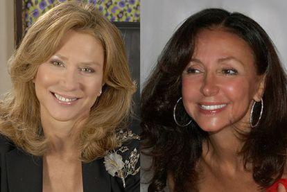 Las hermanas Koplowitz, Alicia (izquierda) y Esther (derecha).