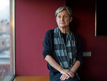 La filósofa Judith Butler, en Barcelona en 2015.