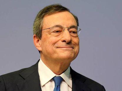 Mario Draghi, expresidente del BCE, en agosto de 2020.
