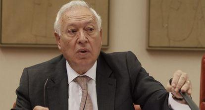 El ministro de Exteriores, José Manuel García-Margallo.