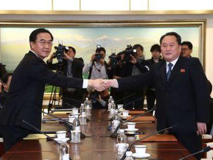Ambos países se han reunido en un clima cordial por primera vez en dos años