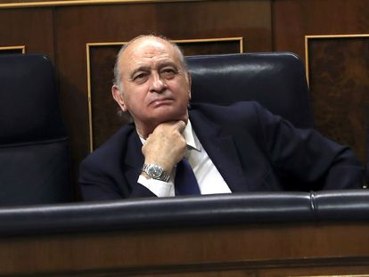 Jorge Fernández Díaz, en el Congreso en una imagen de archivo.