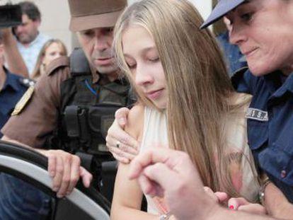 La joven argentina entra en prisión preventiva tras salir del hospital