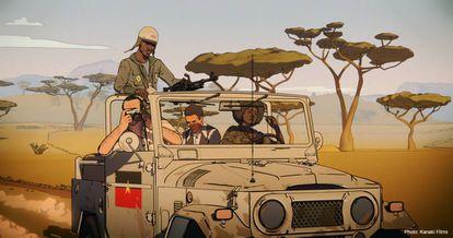 Fotograma de la película 'Un día más con vida'