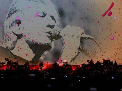 Roger Waters en la Ciudad de México en 2016.