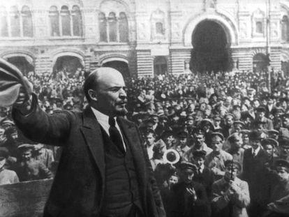 Vladímir Ilich Uliánov, Lenin, fue el gran líder de la Revolución de octubre de 1917.