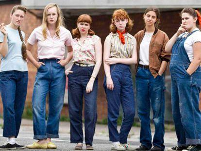La banda de chicas de 'Foxfire'.