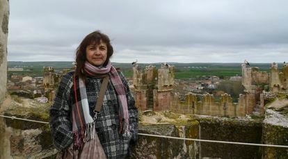 Juana Ruiz, española detenida en Israel.