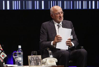 Juan Roig, presidente de Mercadona, en el congreso de Aecoc