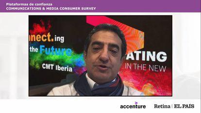 Julio Juan Prieto, socio director y líder de la industria de Comunicaciones, Medios y Tecnología de Accenture