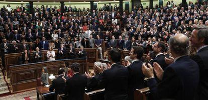 Acto Solemne de Apertura de la XII Legislatura del Congreso de los Diputados.