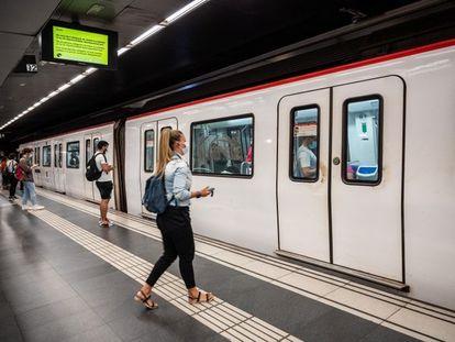 En la imagen, una de las estaciones de la L1 del Metro de Barcelona.