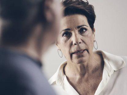 Jordi Bosch y Emma Vilarasau en 'La cabra'