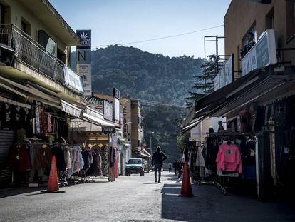 Calle de Els Límits, en La Jonquera.