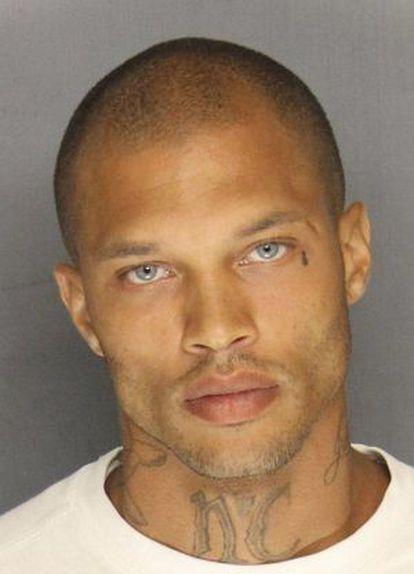 El preso Jeremy Meeks.