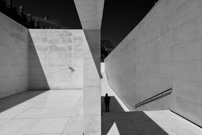 Museo CaixaForum en Barcelona, España.