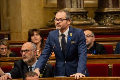 El exvicepresidente del Parlament, Josep Costa, en 2019.