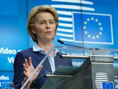 Urdula Von der Leyen destacó el potencial de la cultura para contribuir a la recuperación de la economía y el empleo de la UE. / GI