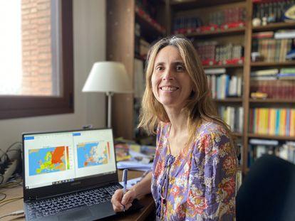 La física Clara Prats.