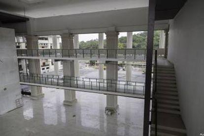 Sede del Tribunal Electoral de Panamá construida por FCC.