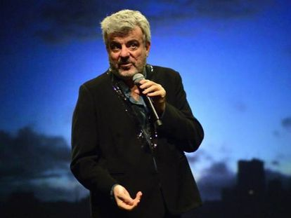 Millán Salcedo en el espectáculo teatral 'En mis trece 2.0'.