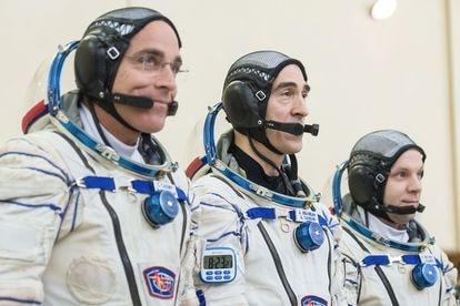 La tripulación de la expedición 63 a la ISS pasará un mes en cuarentena.