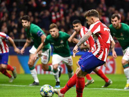 El Atlético se enfrenta al Lokomotiv de Moscú en el partido de la Liga de Campeones