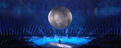 Blas Cantó representa a España en Eurovisión, el pasado sábado.