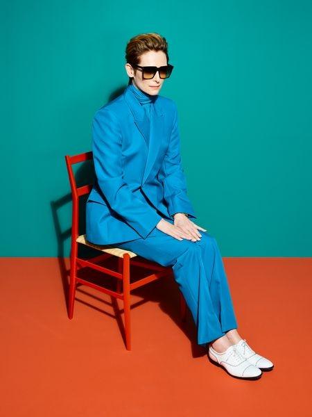 Tilda Swinton, retratada este verano.