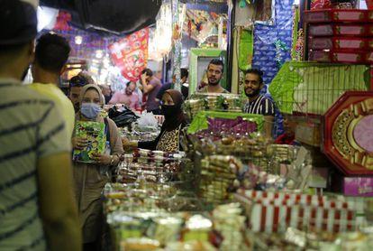 Un mercado de El Cairo, el pasado mes de octubre.