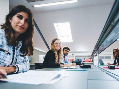 Alumnos del Centro de Estudios Garrigues.