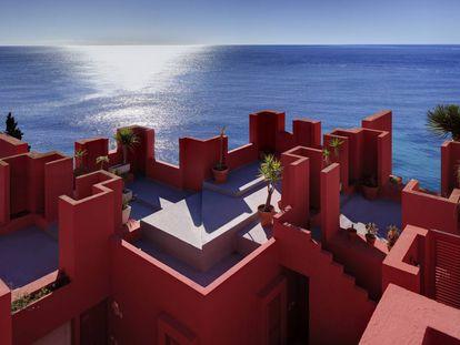 La Muralla Roja de Calpe, de Ricado Bofill, el edificio más 'instagrameado' de España.