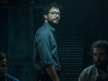 Álvaro Morte, en la cuarta entrega de 'La casa de papel'.