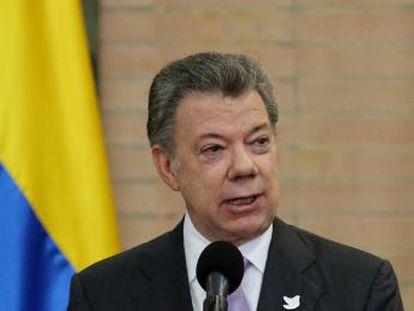 El presidente colombiano   No autoricé ni tuve conocimiento de esas gestiones. Me acabo de enterar