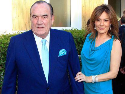 El empresario Fernando Fernández Tapias y su esposa, Nuria González.