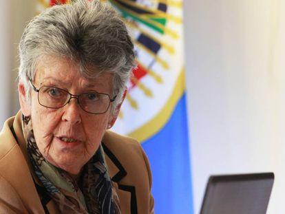 Elizabeth Odio Benito, en una imagen de 2017.