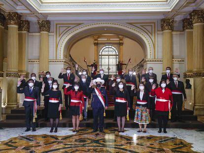 El nuevo Gobierno de Perú, nombrado este miércoles.