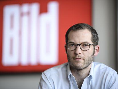 Julian Reichelt, director de Bild, en una foto tomada en 2017.