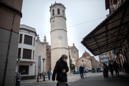 El campanario de Benicarló (Castellón).