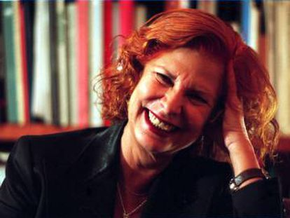 Carmen Alborch, durante una entrevista en 2004.