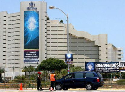 Fachada del hotel Hilton de Isla de Margarita.