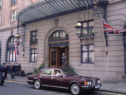 Fachada del hotel Ritz, en el centro de Londres.