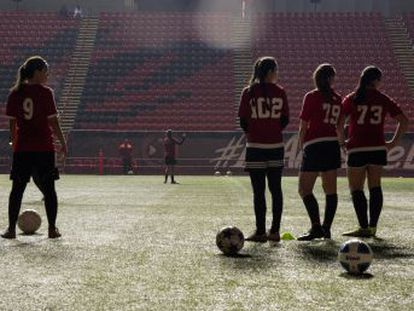 Las Xolas de Tijuana son el primer equipo exclusivo de mujeres, juegan en Estados Unidos y se consolidan como un semillero de futbolistas