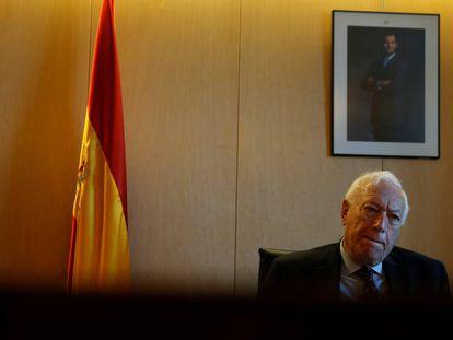 José Manuel García-Margallo, el pasado mes de mayo.